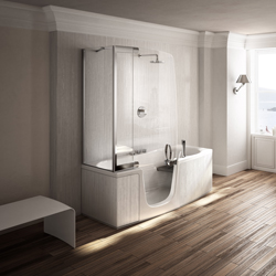 duschen und baden im barrierefreien bad. Black Bedroom Furniture Sets. Home Design Ideas