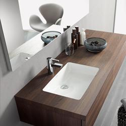 waschtisch schale mit laufen alessi one mittig x lcc wei. Black Bedroom Furniture Sets. Home Design Ideas